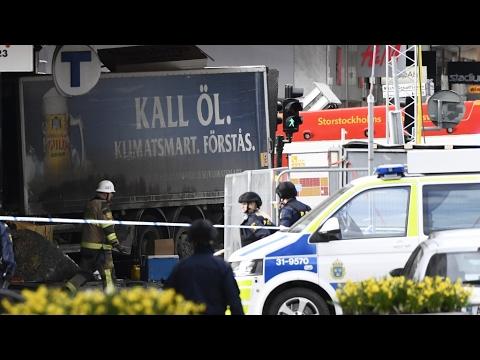 [楽園崩壊]スウェーデンでテロとみられる事件発生。トラック突入により、十数名の死傷者。[海外の反応]