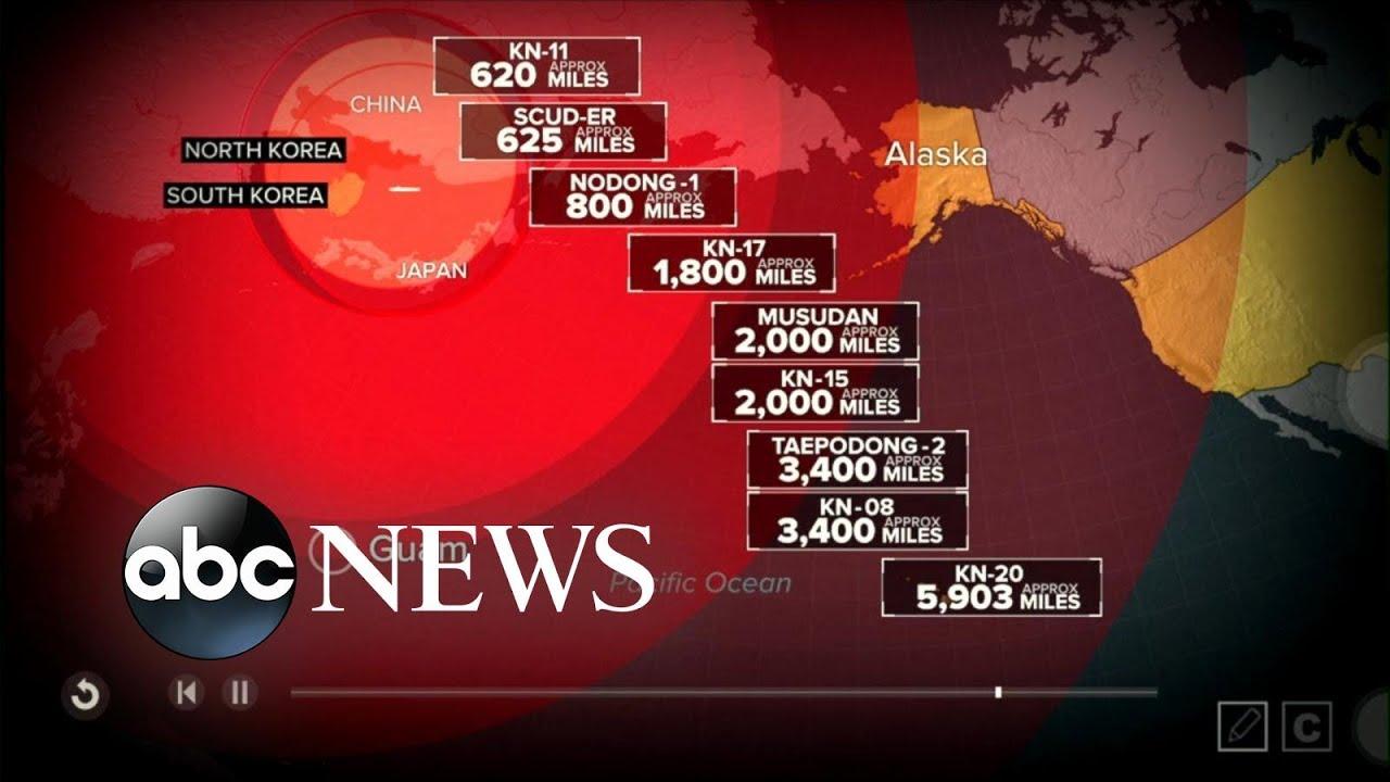 北朝鮮、日本列島上空を通過するミサイルを複数発射するとの声明を発表…緊張が高まる…[海外の反応]