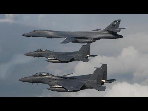 米爆撃機、北朝鮮領空近くを威嚇飛行した模様[海外の反応]