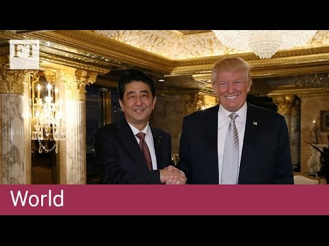[海外の反応]安倍総理、米・トランプ大統領とゴルフ外交へ!
