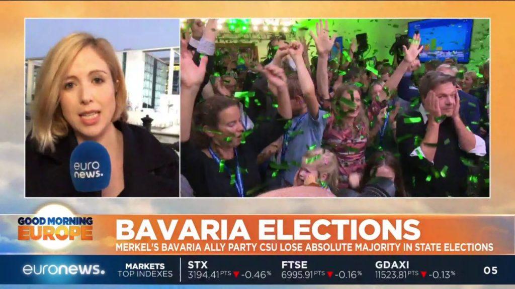 ドイツ:メルケル首相を支える姉妹政党、本拠地の地方選挙にて歴史的大敗[海外の反応]