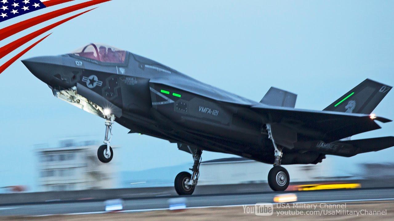 在日アメリカ海兵隊、北朝鮮有事に備え、F35戦闘機の訓練を着々と実施中…[海外の反応]