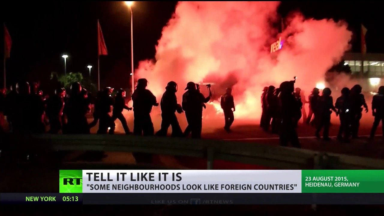独:メルケル首相、国内における「No-Go-Zone」の存在をついに認める[海外の反応]