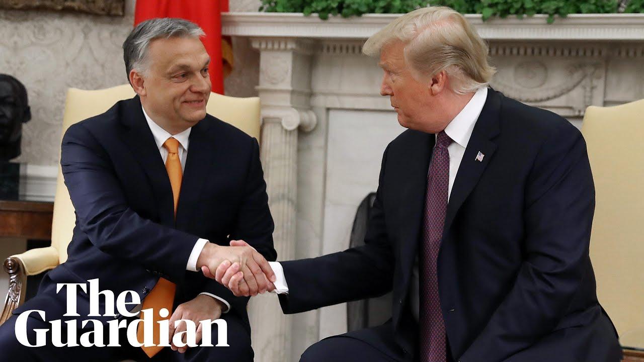 「自国を守った!」トランプさん、反移民派オルバン・ハンガリー首相と仲良く会談。[海外の反応]